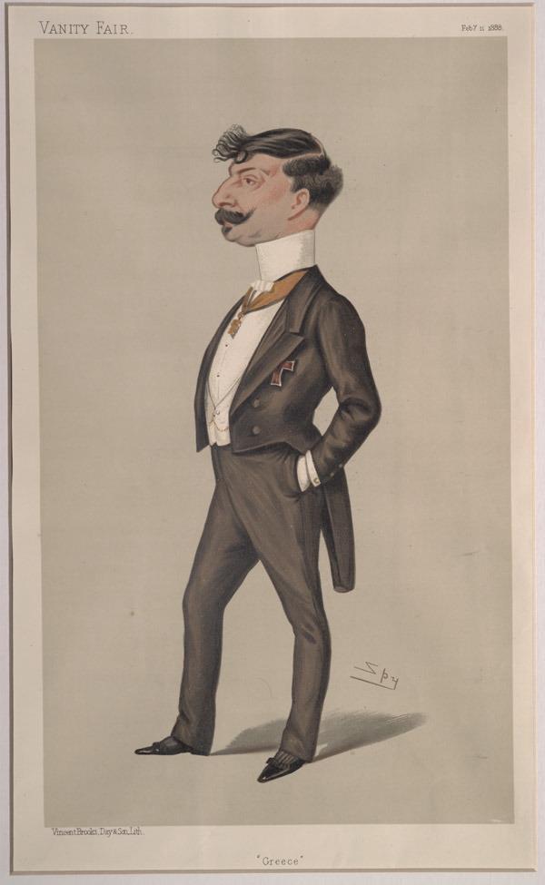 Johannes_Gennadius,_Vanity_Fair,_1888-02-11