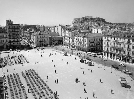Δημήτριος Χαρισιάδης, Άποψη της Πλατείας Συντάγματος, 1956
