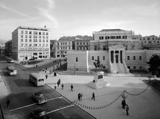 Δημήτριος Χαρισιάδης Πλατεία Κολοκοτρώνη, 1954