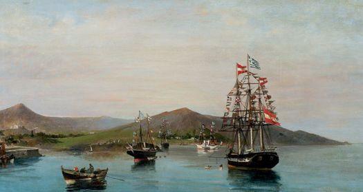 Κωνσταντίνος Βολανάκης, «Σημαιοστόλιστα Πλοία», 1889-93