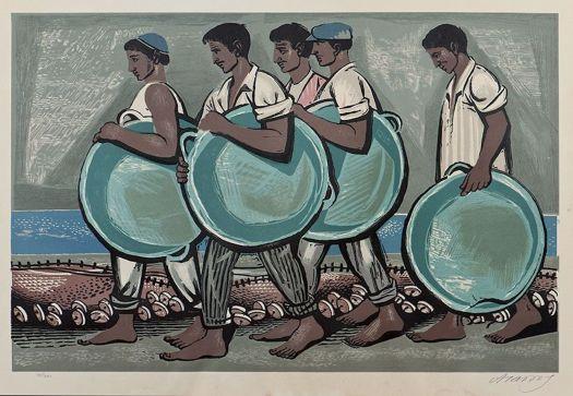 Τάσσος Α. (Αλεβίζος), «Ψαράδες» (της Αίγινας), 1958