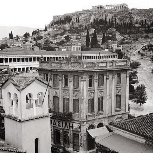 Plaka Athens 1960