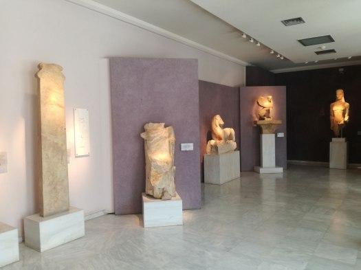 Εσωτερικό του Μουσείου του Κεραμεικού