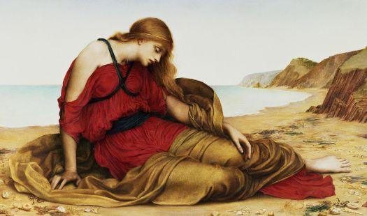 Ariadne_in_Naxos,_by_Evelyn_De_Morgan,_1877